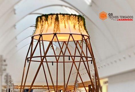 Re-iluminar IntuXanadú con Telas Tensadas Barrisol